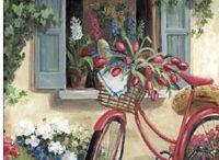 rooi fiets