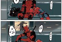 deadpool ve spiderman