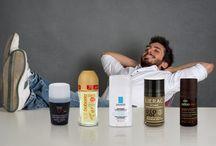 Pánská kosmetika / Pánská kosmetika a parfémy.