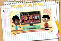 Integrated Lesson Starters / An animated series designed to encourage Listening and Speaking from Grade 1 to 6. This series is integrated with the Life Skills programme and is theme based.