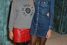 Alexa Chung for AG Jeans Launch