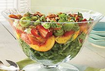 Recipes-Salads/ dessert salads / by Sharon Lay-Jones