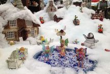 Fairies & Gnomes Welcome the Holidays / Grab Your Sled!