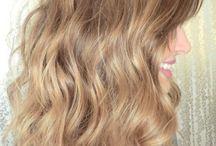 Hair Color Inspiration / Various shades of blonde haircolor