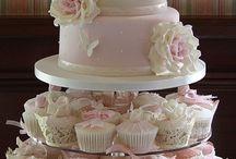 Bryllup/kake