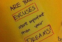 Motivation, inspiration...