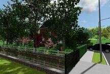 Front Yard / Back Yard Design Projec