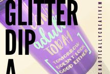 Glitter dip