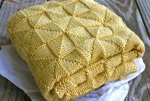 Patterns baby blanket