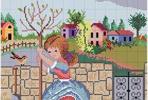 kız tablo etamin