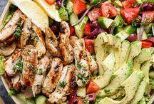 coole Salate / Toolle Sommersalate und ausgefallene Ideen, um dein Picknick, Grillabend oder deine Laune aufzuhellen.