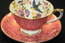 Unusual Tea cups and Piticers