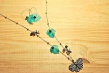 bisutería Rosella Vermella / collares, pendientes, pulseras de Rosella Vermella  ( http://rosellavermella.blogspot.com.es )