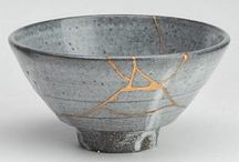 Wabi-Sabi / Japanese art aesthetic - beauty found in the imperfect and  impermanent.