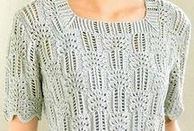 Pletené halenky a svetry