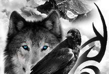 Tatouages de loup