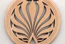 Ahşap süsleme Wooden