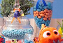 Finding Nemo / Fining Nemo themed birthday party ideas & cakes