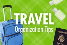 Travel Organization Tips / The last thing you want to pack for a trip is stress. Let Alejandra Costello's travel organization tips, videos, best travel organizers, and ideas help you have a first-class, less-stressed travel experience (often at an economy-class price)! / by Alejandra Costello | Home Organizing Tips, Ideas, Videos, & Best Products