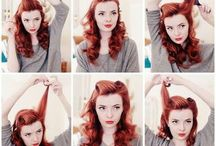 Pin Up Hair Ideas