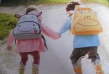 kids / adorable backpacks! Cow or Giraffe