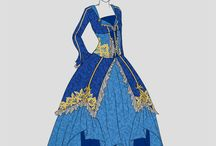 Dresses, vintage style
