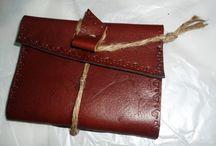 Viaggi / Quaderni di viaggio in carta a mano pelle o cuoio, rilegati a filo