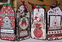 Christmas Tag Cards