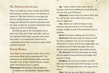 Classes/ races in dnd