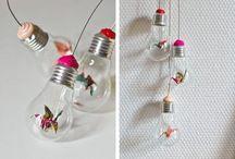 Reaproveitamento de lâmpadas