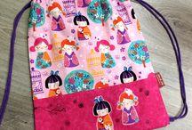 bolsas de tela para niñas