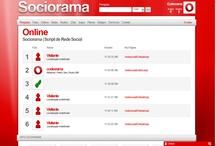 Sociorama / Script de Rede Social com diversos recursos. www.codeorama.com/redesocial/ / by Codeorama com