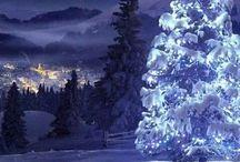 Imagens com neve / algumas coisas com neve.