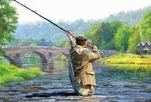Wędkarze i ryby