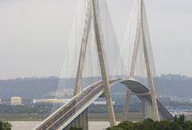 Pontes no mundo.