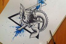 Pokemon tattos