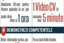 Infografice Carieră / Informatii mult mai prietenoase in format grafic.