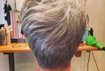 SHORT HAIR EASY / Different options for over 5o-60 - jowls etc