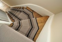 Off The Loom Stair Runner | Point 2 - 60cm (mitred on winding steps)