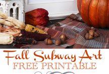 Thanksgiving - DIY & Decorating