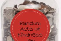Random Acts of Kindness inspiration / Inspiration for RAK week in February