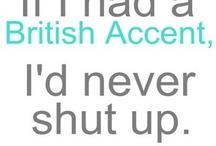 I'm so bloody English! #wildchild :-)