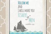 Fishing art ideas