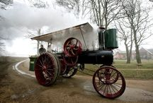 Scandinavian road steam engines esp ploughing