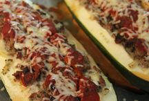 Lasagna stuffed zucchini / Pasta Recipes