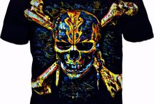 Dead Men Tell No Tales! MULTI COLOR SKULLY PIRATE COLLECTION.