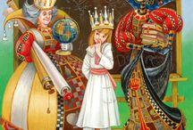 Alice in W:Maxim Mitrofanov / Alice in Wonderland, (illustrator/artist)