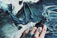 Artist (aesthetic) / 《art, paint, colors, inspiration...》