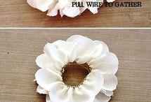 flor de tejido