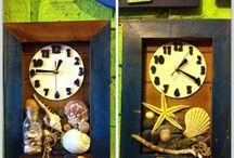 Ocean wooden clocks by rumahbagus